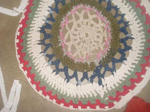 Big rug crochet