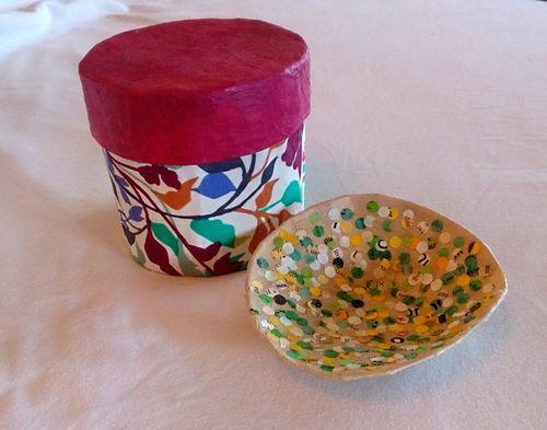 Bowl and gift box